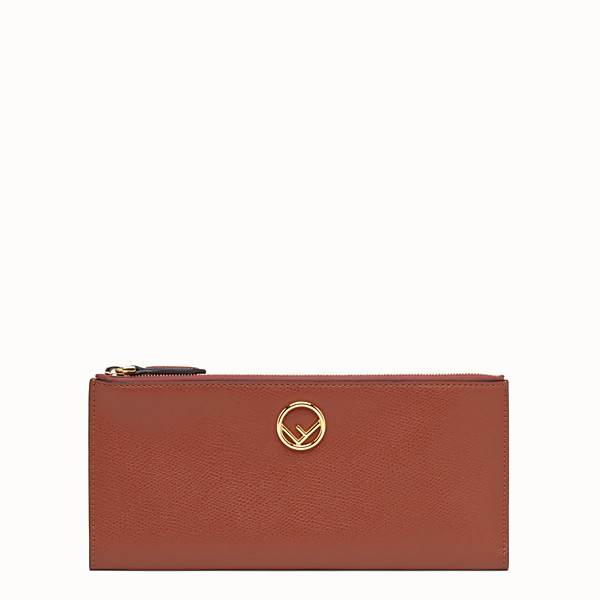 FENDI BIFOLD - Red leather wallet - view 1 small thumbnail