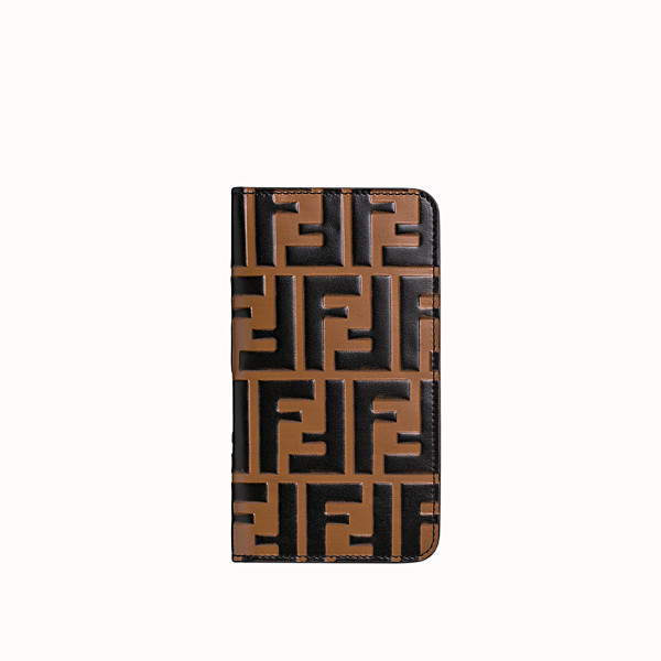 FENDI iPHONE X CASE - Multicolor flip-cover case - view 1 small thumbnail