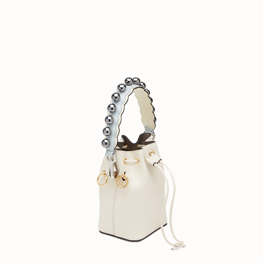 FENDI MINI STRAP YOU - Schultertasche aus Leder - view 2 detail