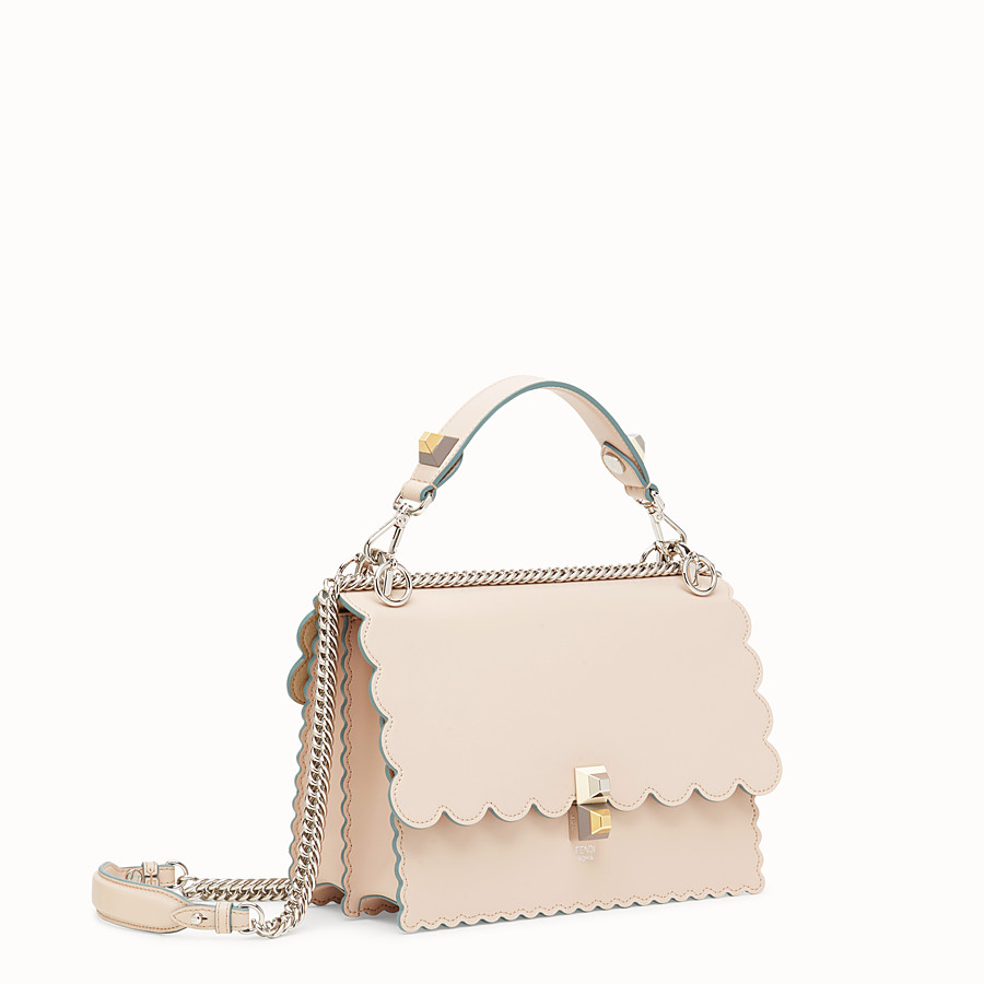 FENDI KAN I - Sac en cuir rose - view 2 detail