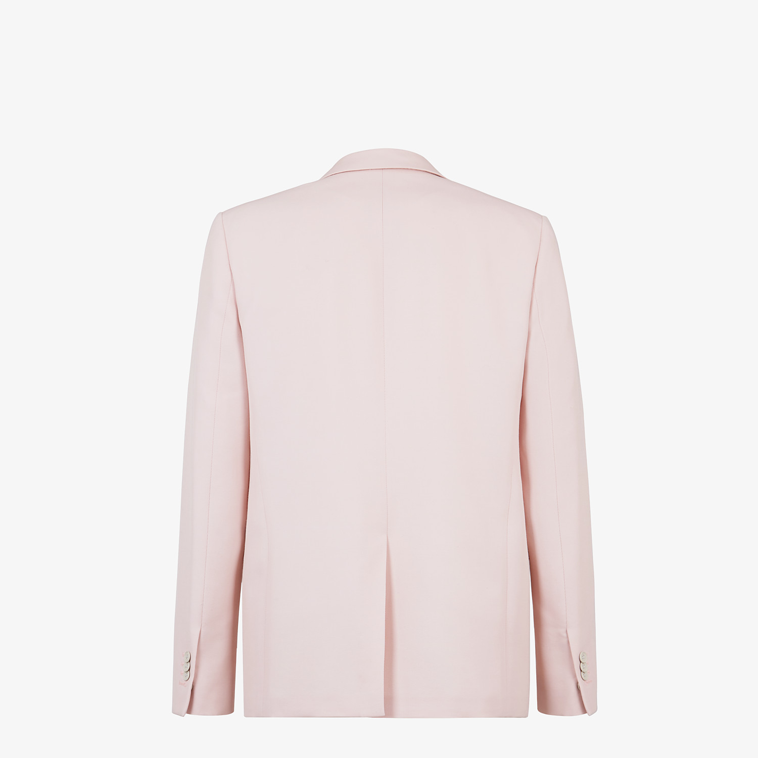 FENDI JACKET - Pink wool blazer - view 2 detail