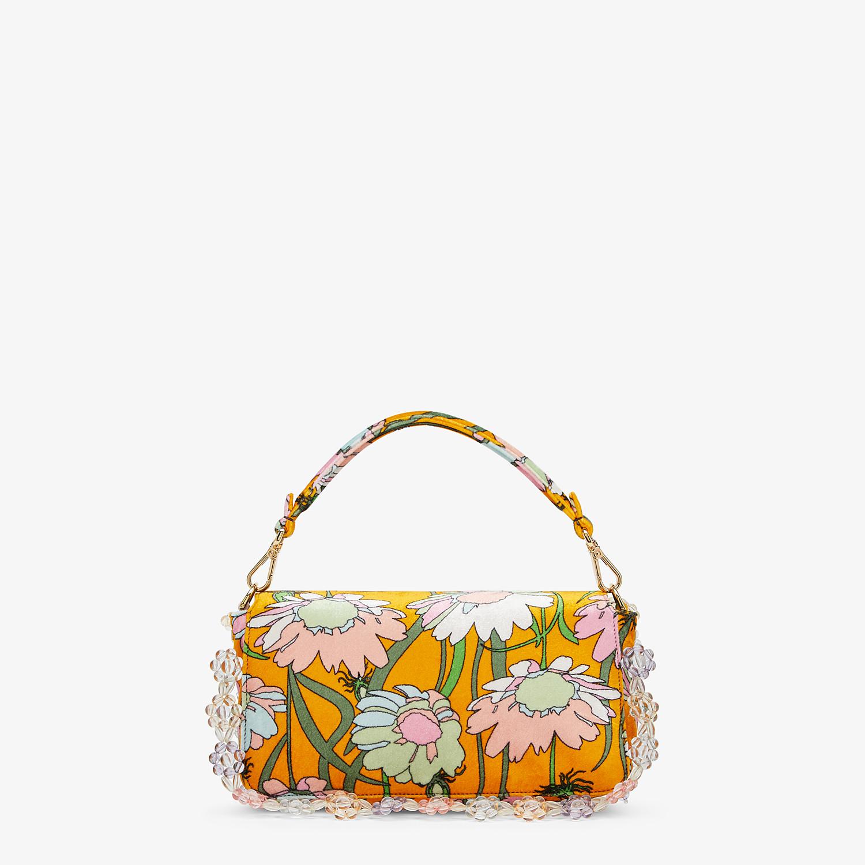 FENDI BAGUETTE - Bag in multicolor chenille - view 4 detail