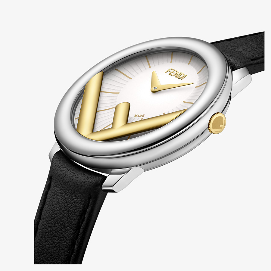 FENDI RUN AWAY - 36 mm - Watch with F is Fendi logo - view 3 detail