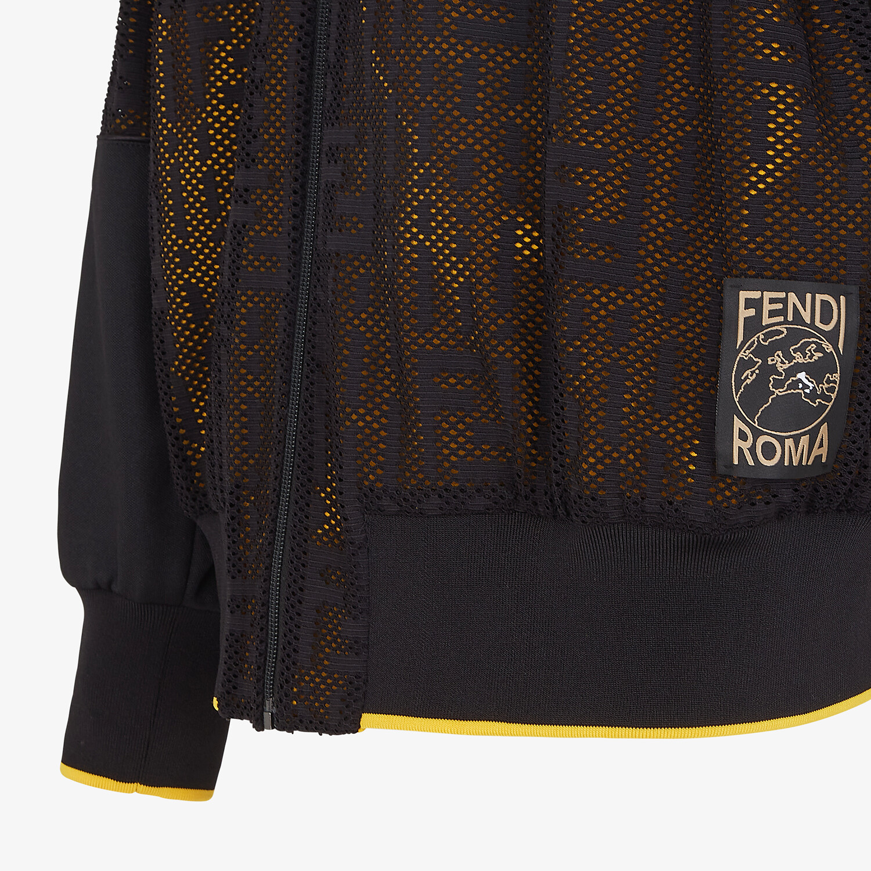 FENDI SWEATSHIRT - Multicolor jersey sweatshirt - view 3 detail