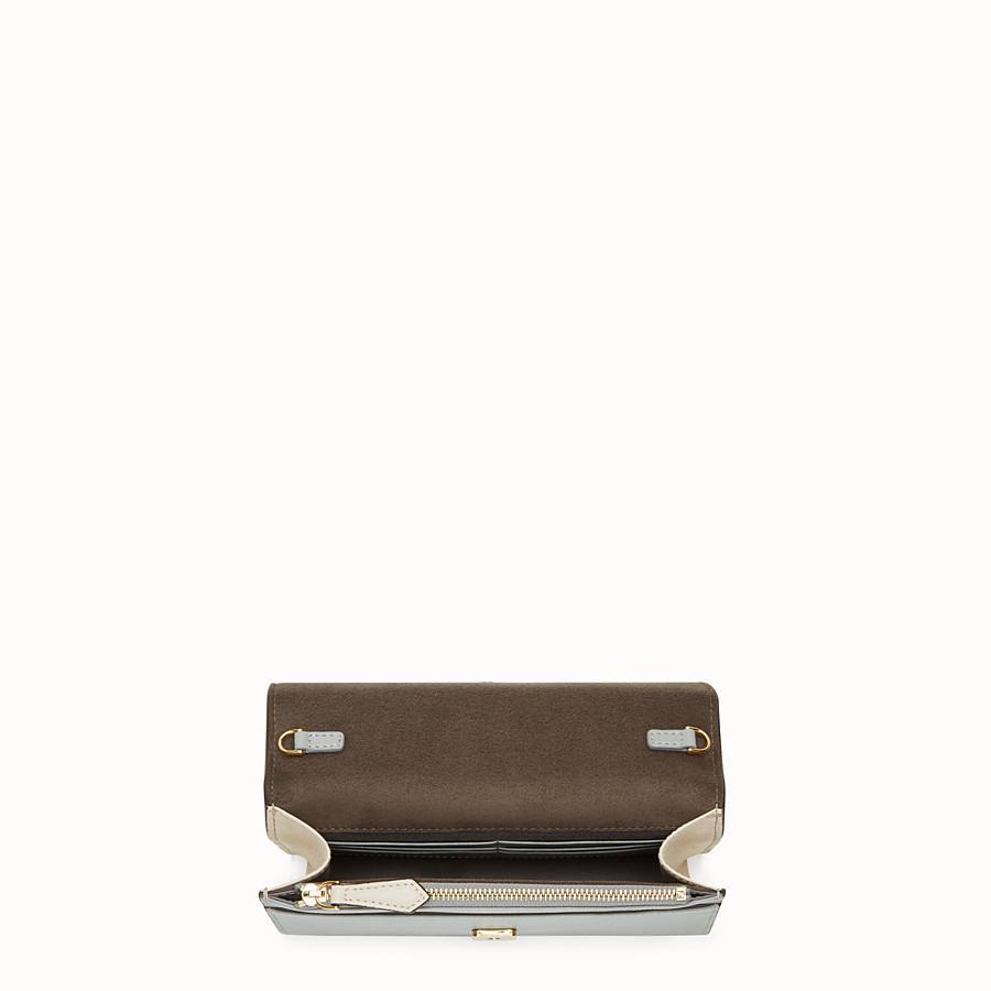 FENDI WALLET ON CHAIN - Multicolor leather mini-bag - view 4 detail