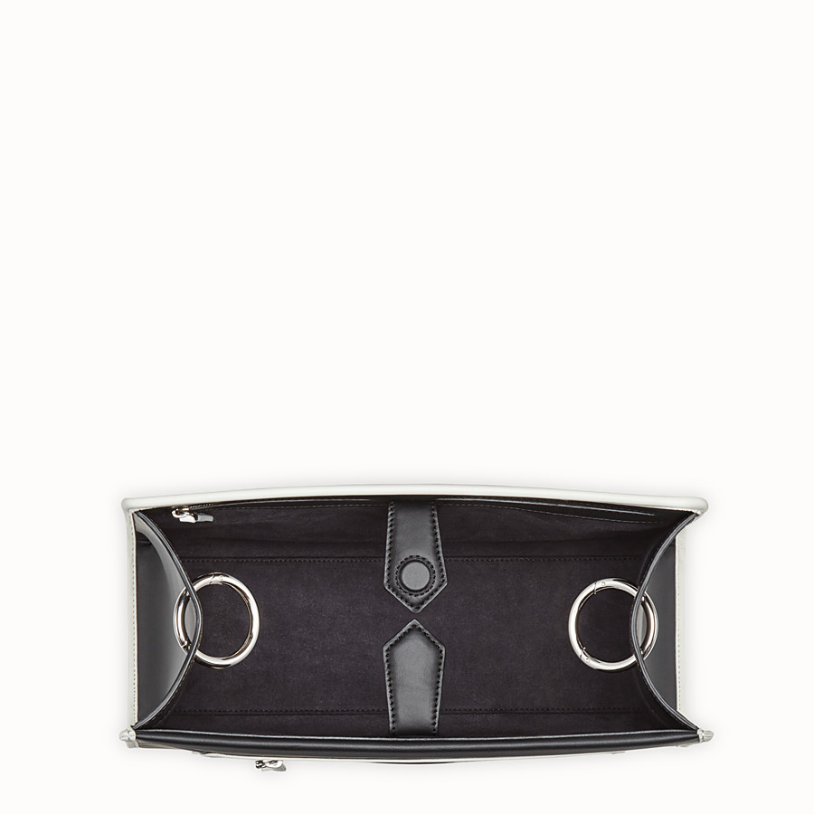 FENDI RUNAWAY REGULAR - Black leather bag - view 4 detail