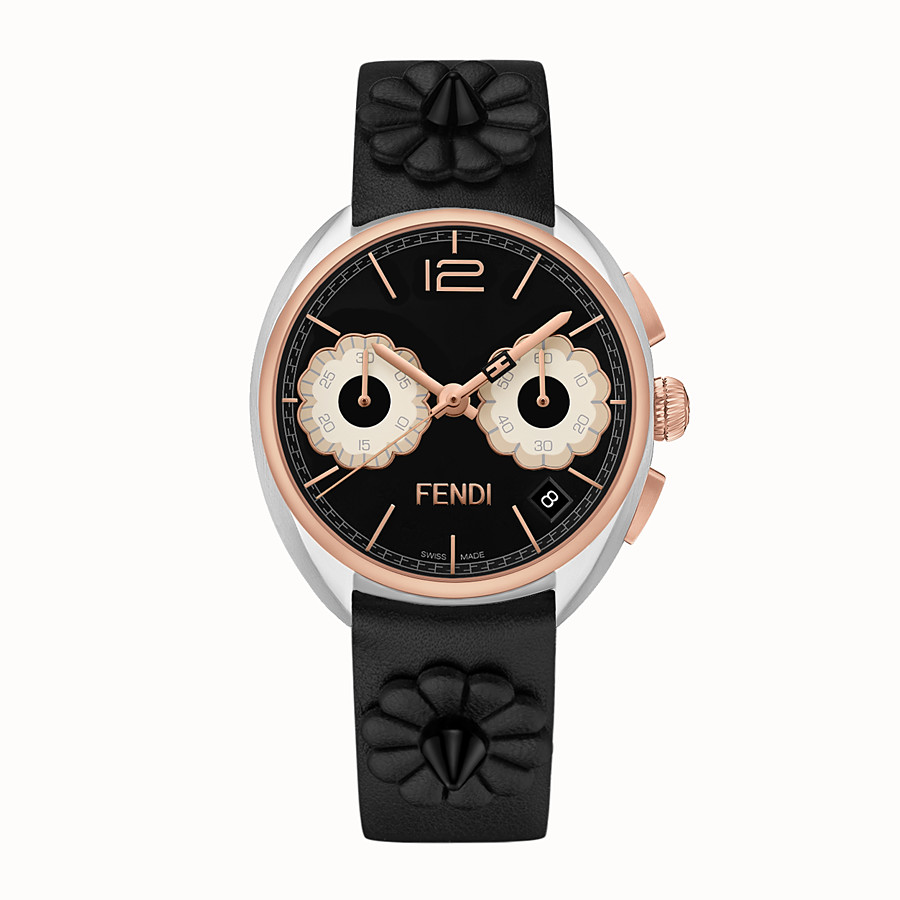 FENDI MOMENTO FENDI - 40 mm - Chronograph watch with flowers and strap - view 1 detail