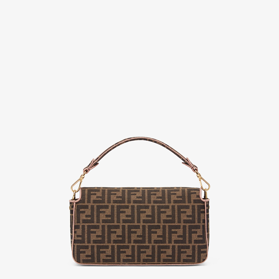 FENDI BAGUETTE - Embroidered FF fabric bag - view 4 detail
