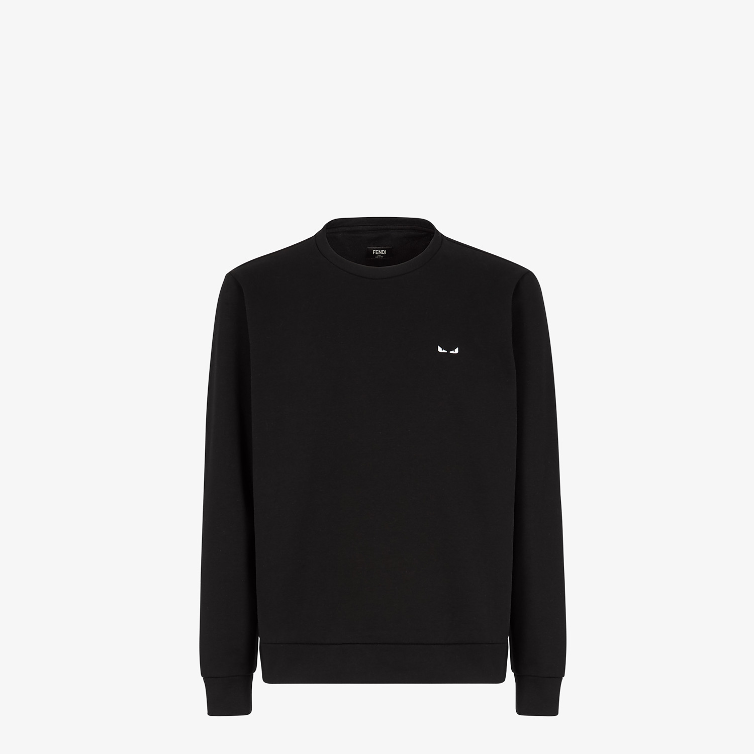 FENDI SWEATSHIRT - Black cotton - view 1 detail