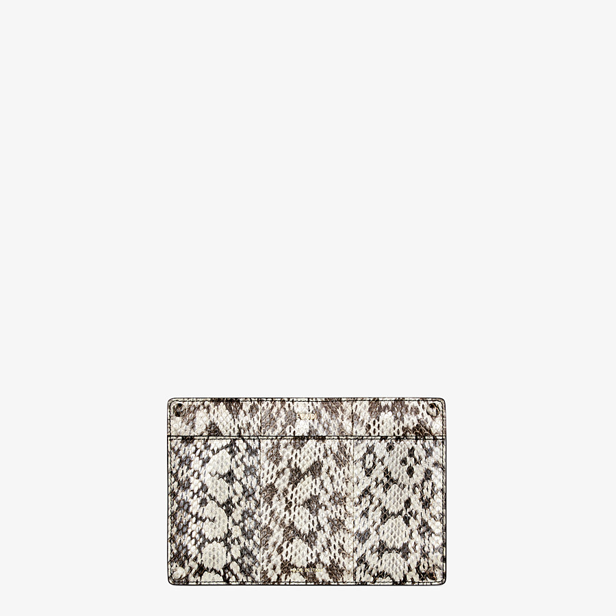 FENDI PEEKABOO ISEEU POCKET - Accessory pocket in natural elaphe - view 1 detail