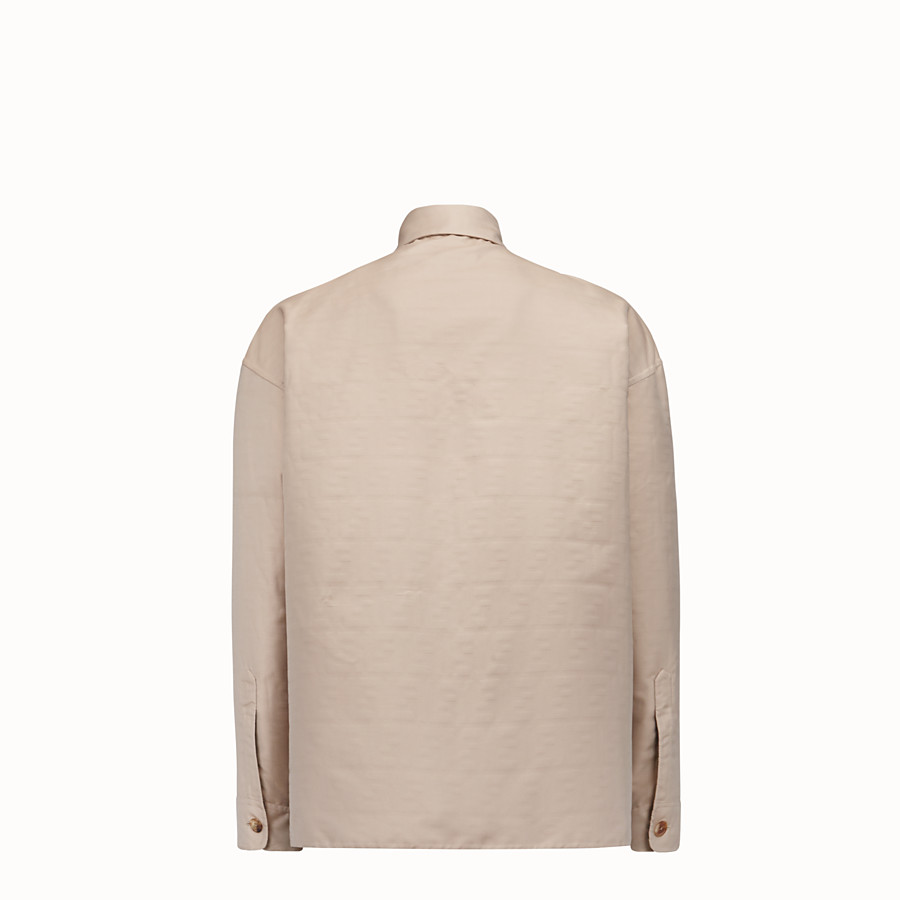 FENDI BLOUSON - Blouson aus Nylon in Beige - view 2 detail