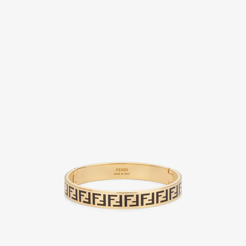 FENDI FF BRACELET - Gold-colour bracelet - view 1 detail