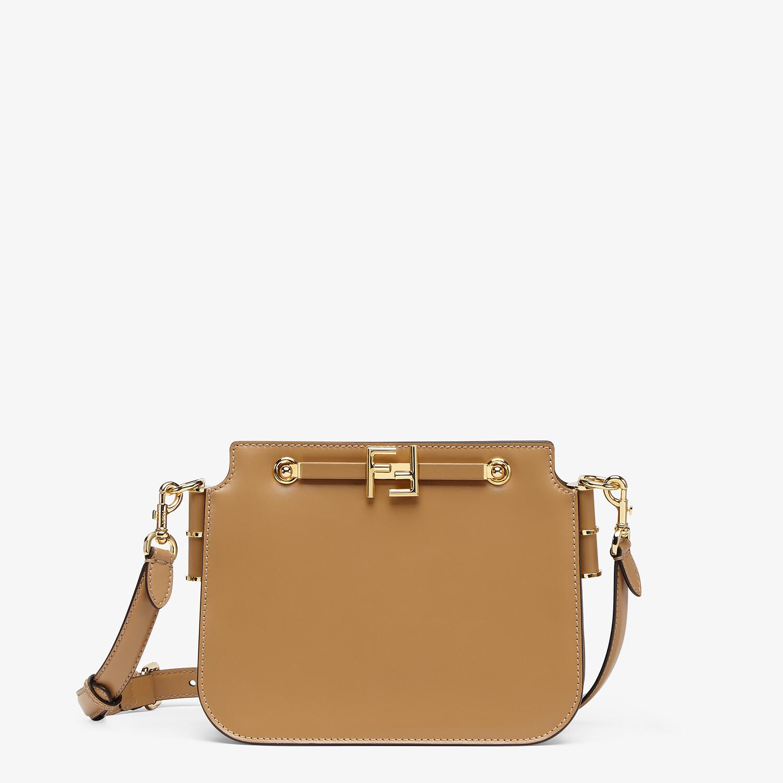 FENDI FENDI TOUCH - Beige leather bag - view 1 detail