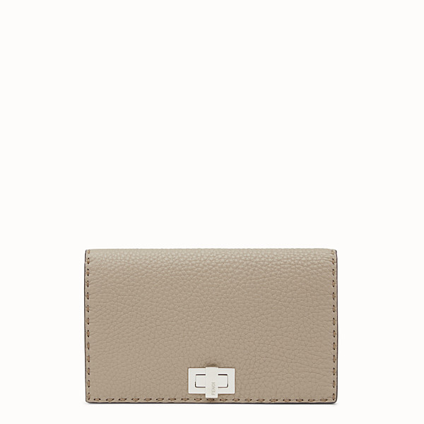 FENDI WALLET - Selleria cord-coloured wallet  - view 1 small thumbnail