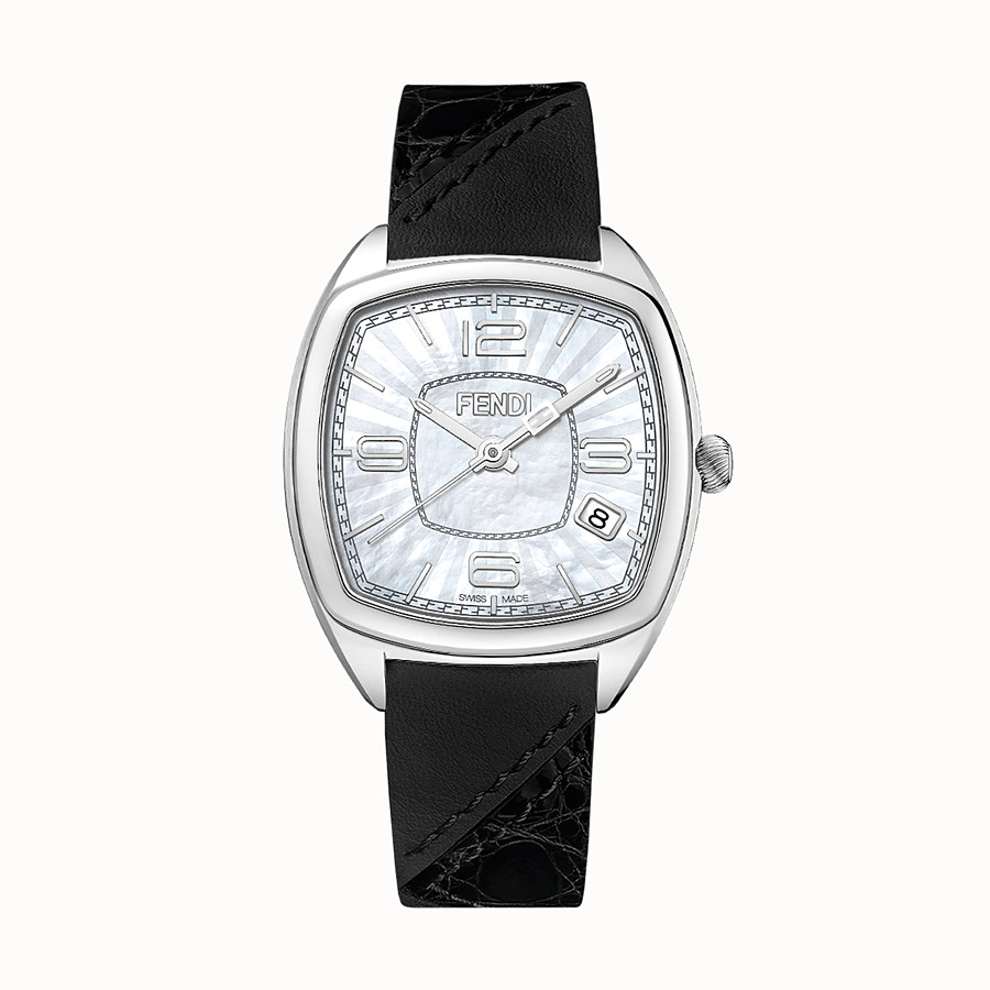 FENDI MOMENTO FENDI - 31.5 x 32 mm - Watch with strap - view 1 detail