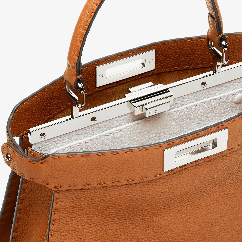 FENDI PEEKABOO ISEEU MEDIUM - Brown Selleria bag - view 7 detail