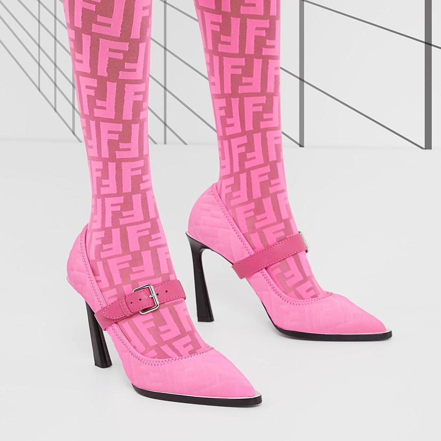FENDI COURT SHOES - Fendi Prints On Lycra® court shoes - view 5 detail