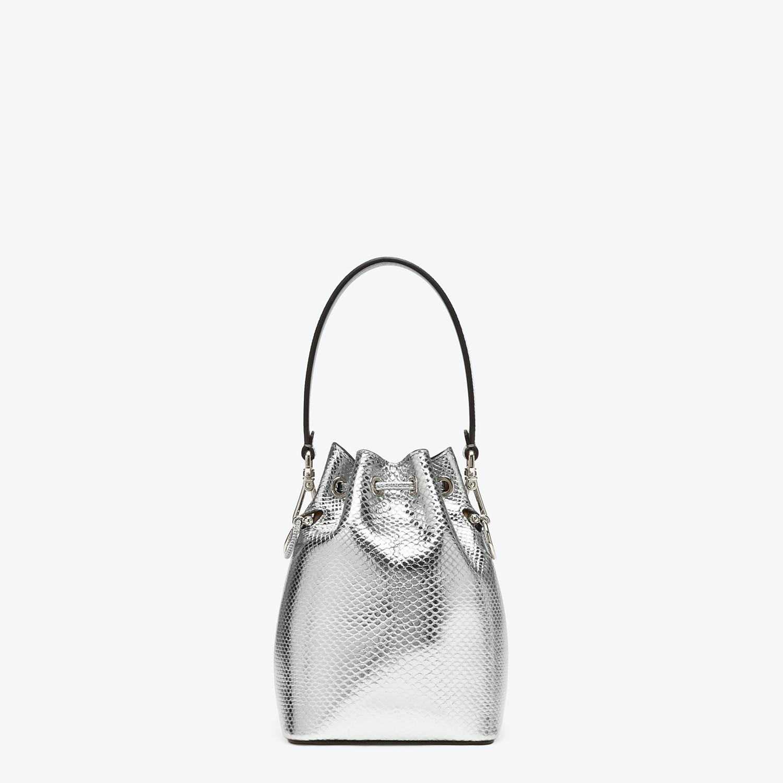 FENDI MON TRESOR - Silver karung mini bag - view 3 detail
