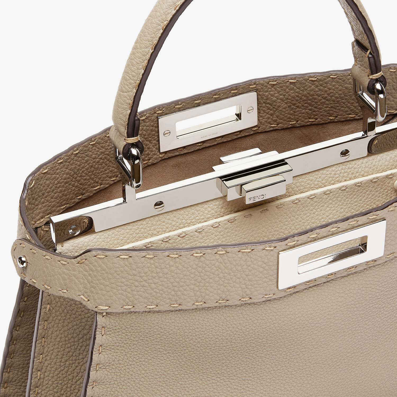 FENDI PEEKABOO ISEEU MEDIUM - Dove gray Selleria bag - view 7 detail
