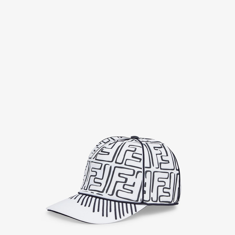 FENDI HAT - White Lycra® baseball cap - view 1 detail