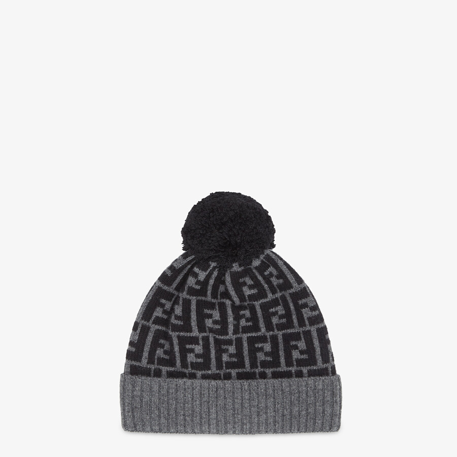 FENDI HAT - Multicolor wool hat - view 1 detail