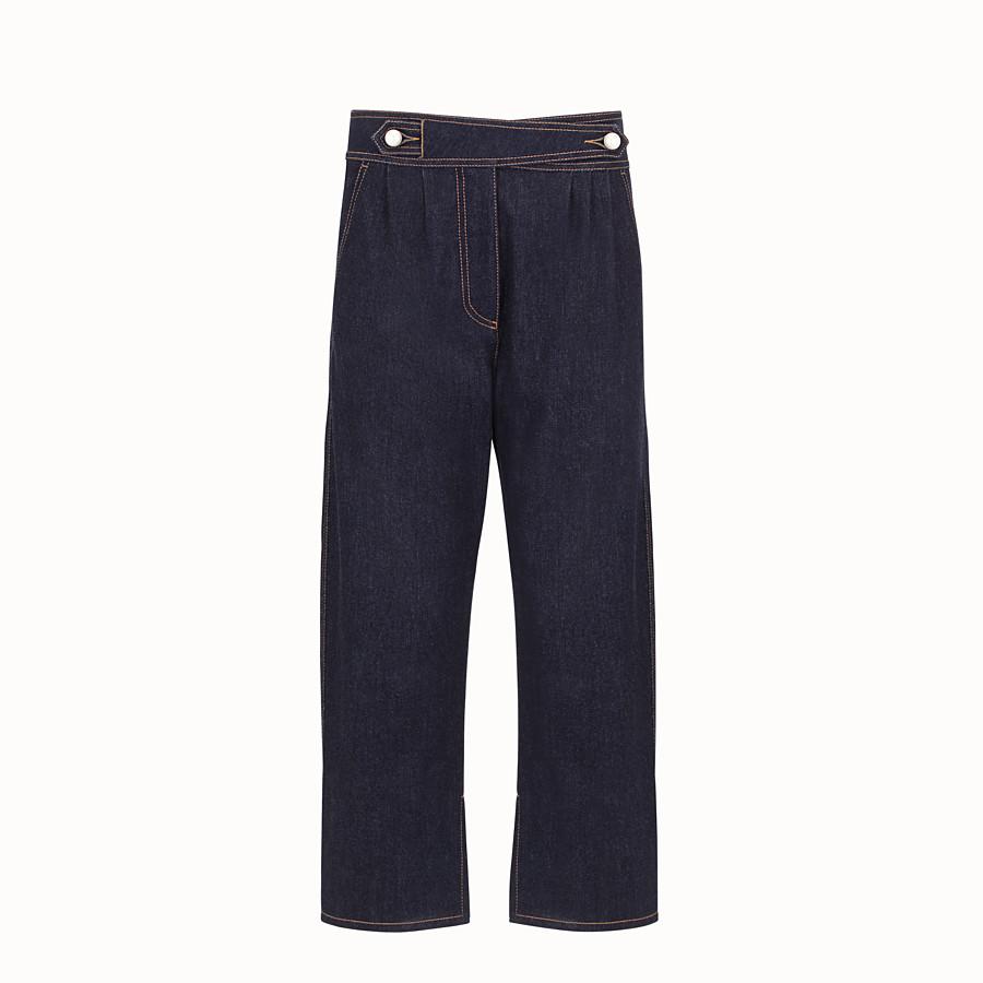 FENDI 長褲 - 藍色牛仔褲 - view 1 detail