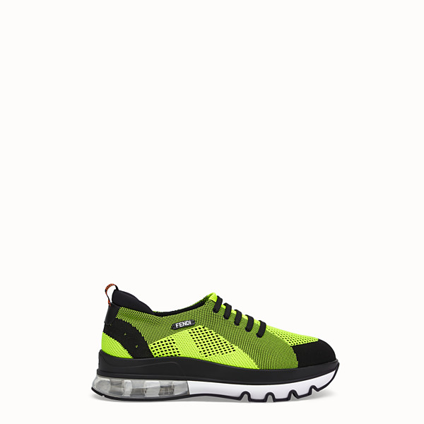 FENDI SNEAKERS - Multicolour mesh low-tops - view 1 small thumbnail