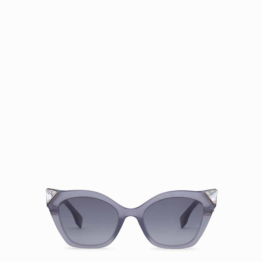 FENDI IRIDIA - Opale Grey sunglasses - view 1 detail