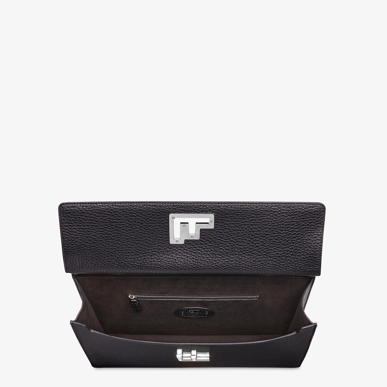 FENDI BUSINESS BAG - Black, calf leather bag - view 4 detail