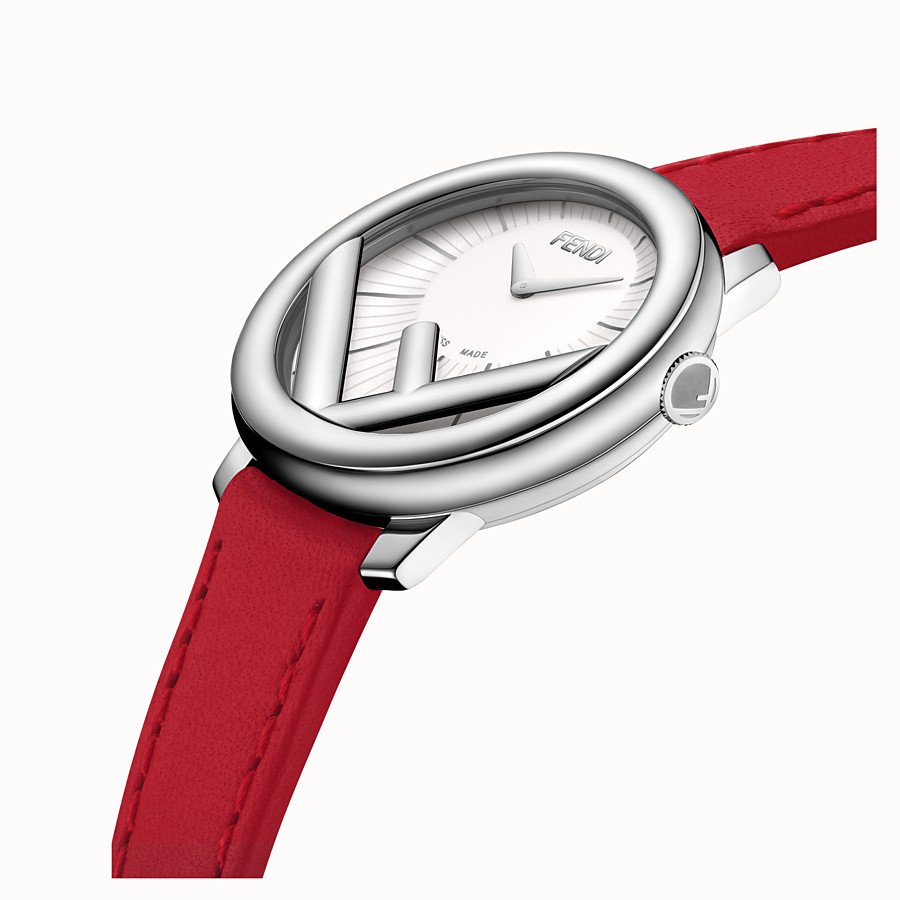 FENDI RUN AWAY - 28 mm - Watch with F is Fendi logo - view 3 detail