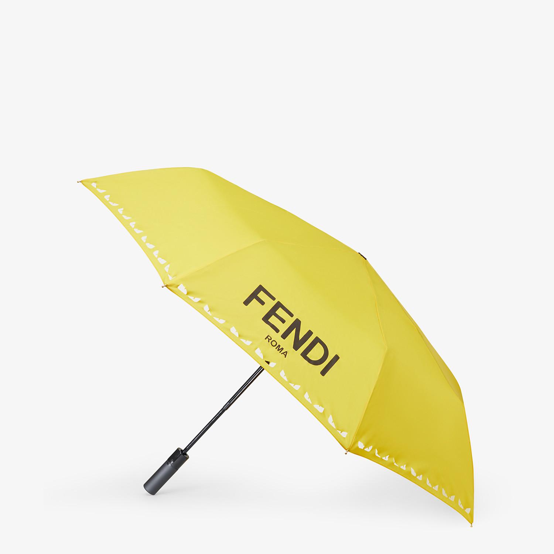 FENDI UMBRELLA - Yellow tech fabric umbrella - view 1 detail