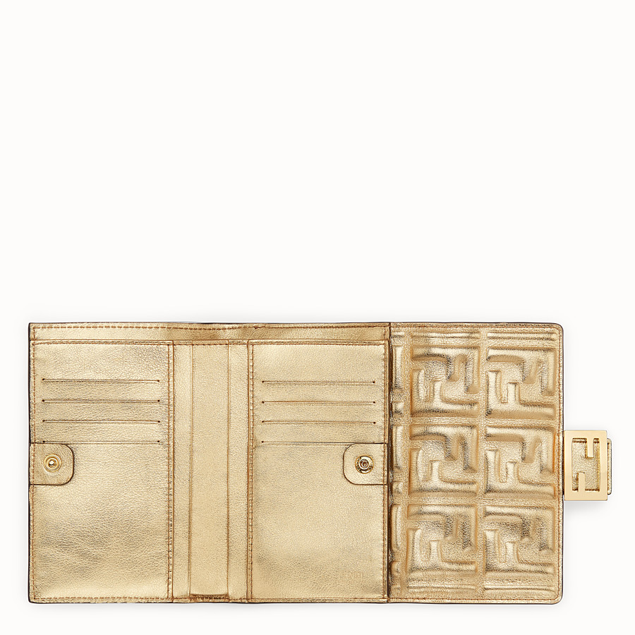 FENDI 二つ折り財布 - ゴールデンレザー 財布 - view 4 detail