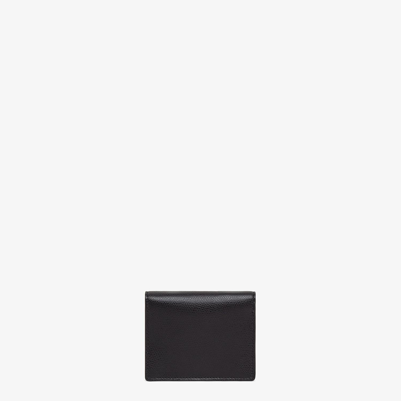 FENDI PORTEMONNAIE MIT TRAGEKETTE - Mini-Tasche aus Leder in Schwarz - view 3 detail