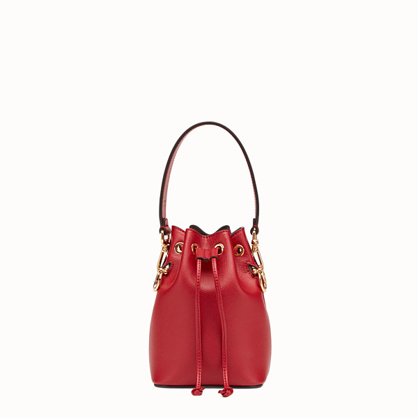FENDI MON TRESOR - Mini sac en cuir rouge - view 1 small thumbnail