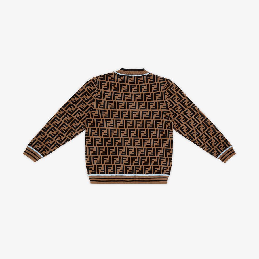 FENDI CARDIGAN - Junior boy knit cardigan - view 2 detail