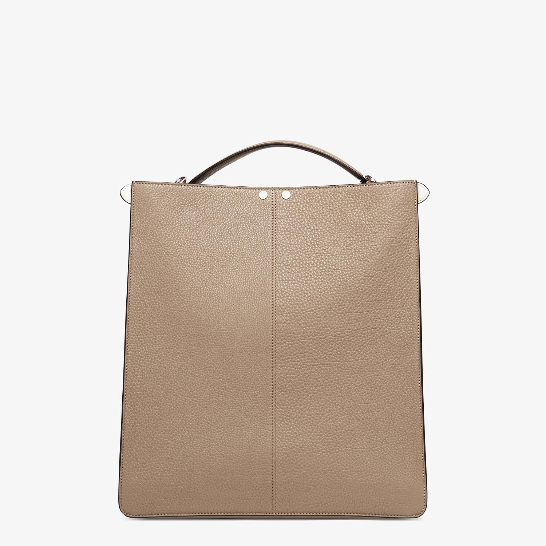 FENDI PEEKABOO ISEEU TOTE - Beige leather bag - view 5 detail