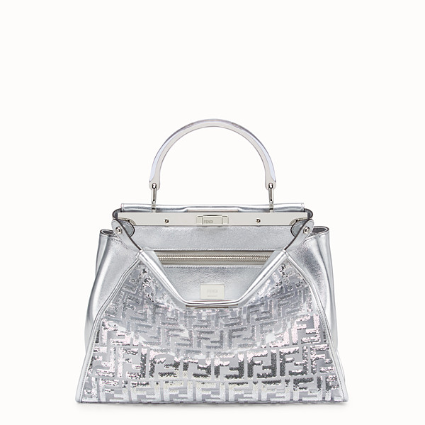 FENDI PEEKABOO ICONIC MEDIUM - Fendi Prints On leather bag - view 1 small thumbnail