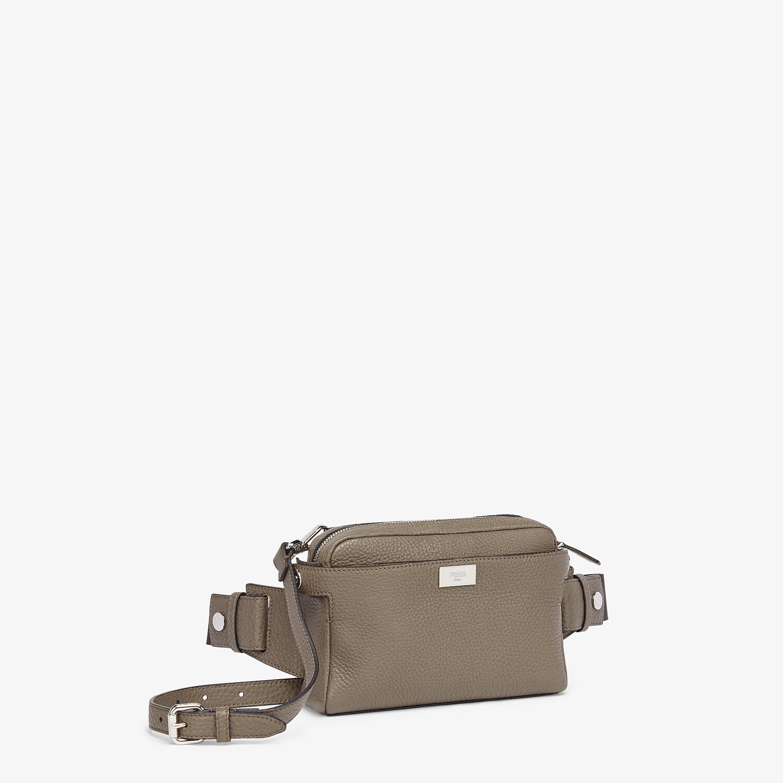 FENDI BELT BAG - Green leather belt bag - view 3 detail