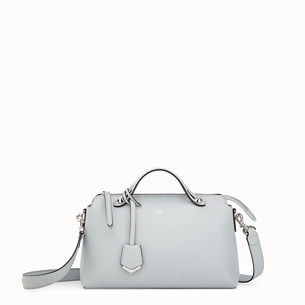 FENDI BY THE WAY REGULAR - Grey leather Boston bag - view 1 small thumbnail