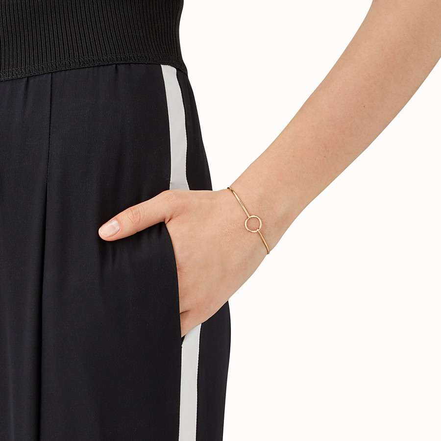 FENDI ABCHIC BRACELET - Gold-colour bracelet - view 2 detail
