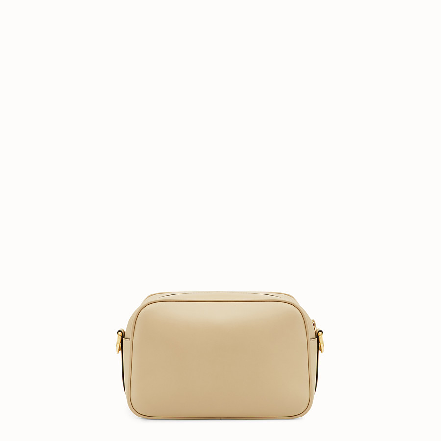 FENDI CAMERA CASE - Beige leather bag - view 3 detail