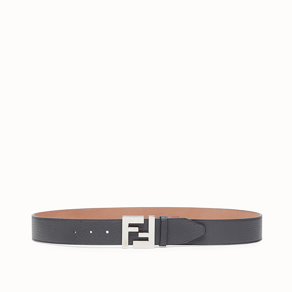FENDI BELT - Grey leather belt - view 1 small thumbnail