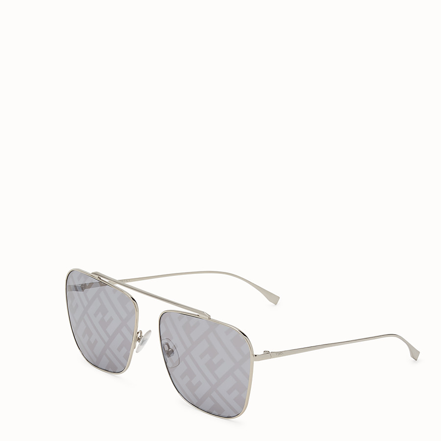 FENDI FF FAMILY - Metal sunglasses with FF logo - view 2 detail