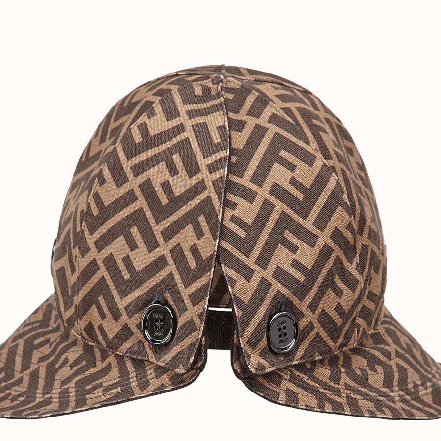 FENDI HAT - Brown cotton hat - view 2 detail