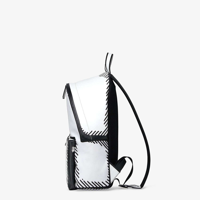 FENDI BACKPACK - Fendi Roma Joshua Vides nylon backpack - view 2 detail
