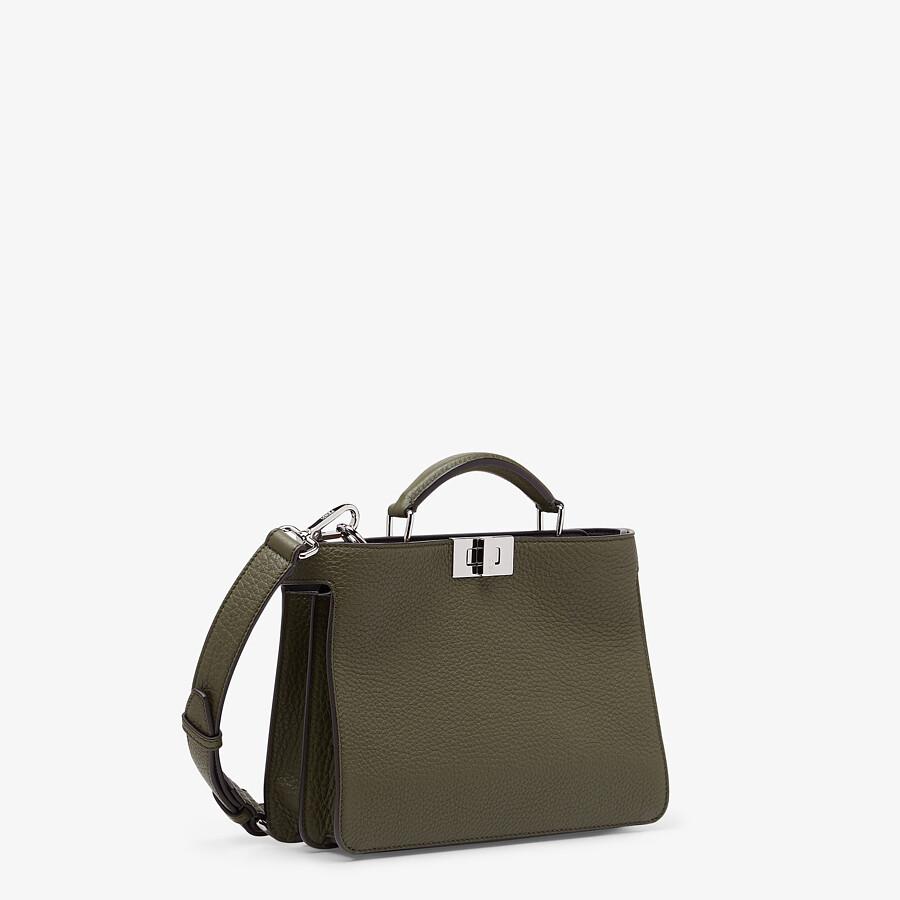 FENDI PEEKABOO ISEEU MINI - Green leather bag - view 3 detail