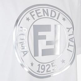 FENDI T-SHIRT - T-Shirt aus Jersey in Weiß - view 3 thumbnail