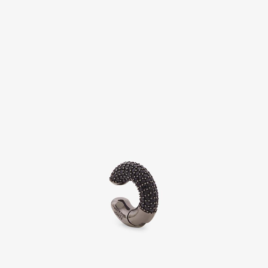 FENDI FENDIOOPS EARRING - Ruthenium colour earring - view 1 detail
