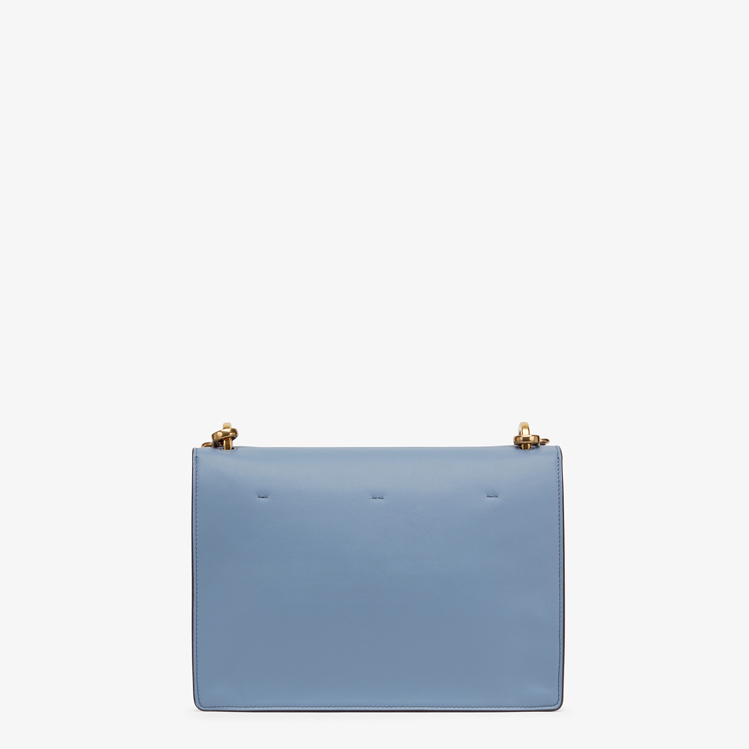 FENDI KAN U - Light blue leather bag - view 4 detail