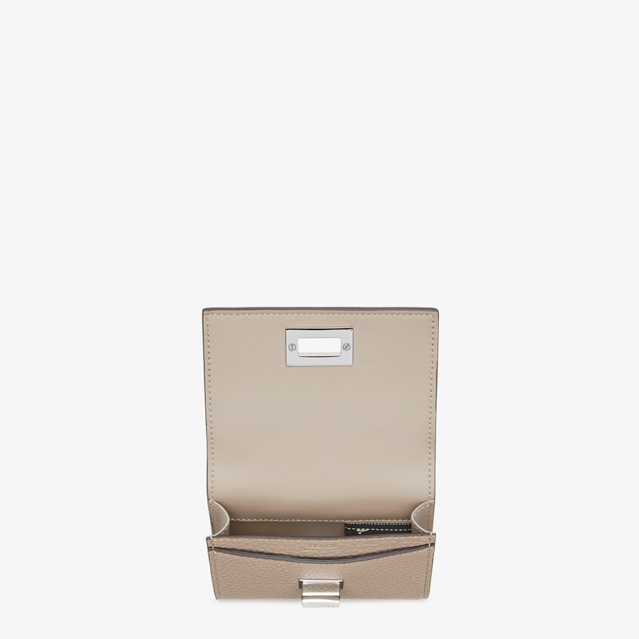 FENDI BUSINESS CARD HOLDER - Leather business card holder - view 3 detail